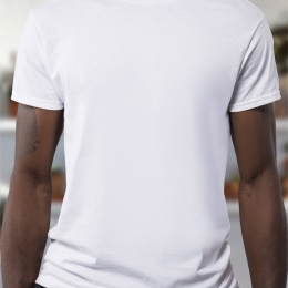 Sport basic white T-Shirt